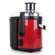 Klarstein Fruit Tornado Juicer 400W Red/Black Stainless Steel