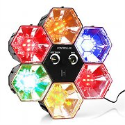 oneConcept RBL 1 Disco Hexagon LED Light Effect 6 elements