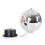 OneConcept Mirror Disco Ball RGBY LED