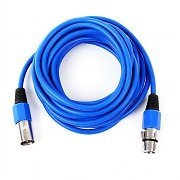 FrontStage XLR Male to XLR Female Cable 6m Blue