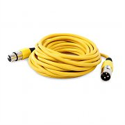 FrontStage XLR Microphone Cable 6m Yellow