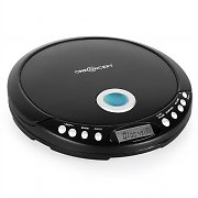 OneConcept CDC-300 Portable Walkman CD Player w/ Headphones MP3