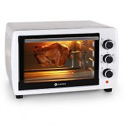 Klarstein Omnichef 30 Mini Electric Oven 1500W 31L Stainless Steel White & Silver