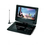 "Trevi DVBX 1412 Portable 9"" DVD Player with DVB-T USB SD Purple"