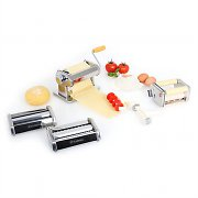 Klarstein Classic Pasta Maker w/ 3 Machine Attachments