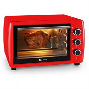 Klarstein Omnichef 30 Mini Electric Oven 1500W 31 Litres Red