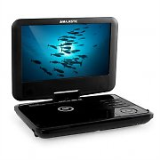 "Majestic DVX 180 Portable DVD Player USB SD Black 9"" Display"