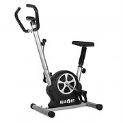 Klarfit Mobifit 5 Home Exercise Bike with Training Computer 100kg Black