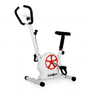 Klarfit Mobifit 5 Home Exercise Bike with Training Computer 100kg White