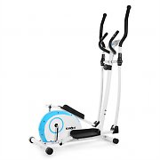 Klarfit ELLIFIT BASIC 10 Home Elliptical Cross Trainer Blue/White
