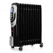 Klarstein Baikal Portable Oil Filled Radiator Heater 2200W Black