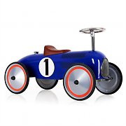 Marquant Vintage Kids Ride-On Toy Race Pedal Car Blue