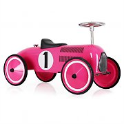 Marquant Vintage Kids Ride-On Toy Race Pedal Car Pink