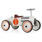 Marquant Vintage Kids Ride-On Toy Race Pedal Car Cream