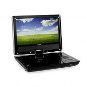 "AEG CTV4958 Portable DVD Player LCD TV 9"" DVB-T USB SD CD/MP3 MPEG4"