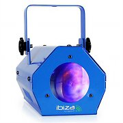 Ibiza LCM003LED Moonflower Party Light Effect Microphone RGBWA Blue