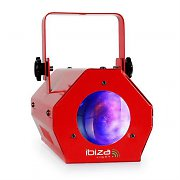 Ibiza LCM003LED Moonflower LED RGBWA Red