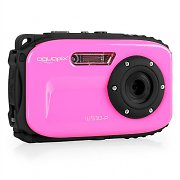 Easypix W510 Neon Camera 12MP SD USB 10m Waterproof Pink