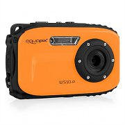 Easypix W-510 Neon Camera 12MP SD USB 10m Waterproof Orange