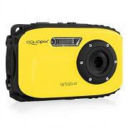 Easypix W510 Neon Camera 12MP SD USB 10m Waterproof Yellow