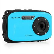 Easypix W-510 Neon Camera 12MP SD USB 10m Waterproof Blue