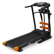Klarfit Treado Advanced Treadmill Foldable Sit-up Bench Black