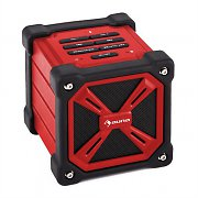 Auna TRK-861 Portable Bluetooth Speaker Battery Outdoor Red