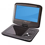 "Denver MT-980DVBT Portable DVD Player 9"" LCD Display USB MP3 SD MMC MS"