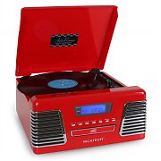 Ricatech RMC150 Hifi Vinyl Stereo System CD MP3 FM USB SD AUX