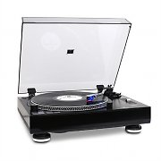 Auna TT-1201 USB Turntable Record Player Black