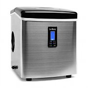 Klarstein Mr. Black Frost Ice Maker 150W Stainless Steel