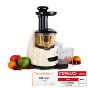 Klarstein Fruitpresso Slow Fruit Juicer 150W 70 RPM
