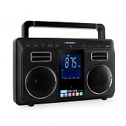 Roadstar TRA-800BT Portable Stereo Boombox Bluetooth Radio AUX