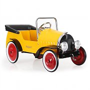 Marquant 1935 Kids Oldtimer Ride-On Pedal Car Yellow 3-5 Yrs