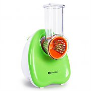 Klarstein Electric Food Slicer and Grater 150W Green