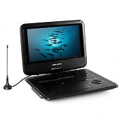 Majestic DVX-261D Portable DVD Player DVB-T USB SD Black