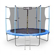 Klarfit Rocketboy XXL 10ft Trampoline with Enclosed Safety Net Blue