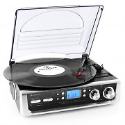 Auna TT-196E Record Player USB MP3 AM / FM Phono