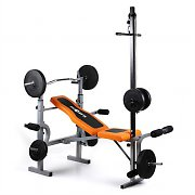 Klarfit Ultimate Multi-Gym 3500 Home Gym Weight Bench Lat Arm/Leg