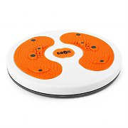 Klarfit myTwist Body Twister Board Foot Massage Orange
