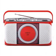 oneConcept Boomtown-Boy Portable CD Player Radio