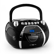 Auna Beeboy Radio Recorder CD MP3 USB Black