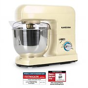 Klarstein Gracia Morena Food Processor 1000W Cream