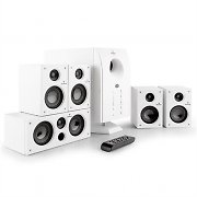 Auna Areal 525 Active 5.1 Channel Surround Speaker System 95W RMS AUX White