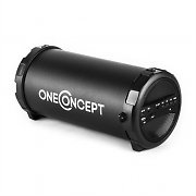 oneConcept Dr. Beat 2.1 Bluetooth Speaker USB SD AUX FM Battery Black