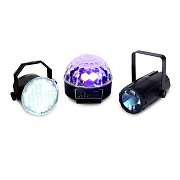 Beamz Light Package 1 -  LED Light Effect 3 Piece Set