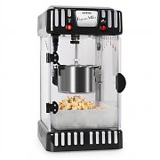 Klarstein Volcano 300W Popcorn Machine Stainless Steel Kettle Black