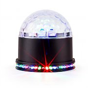 Ibiza UFO-ASTRO-BL LED Light Effect RGB Black