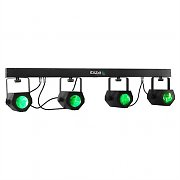 Ibiza 4Moon-Bar LED Light Effect T-Bar 228 RGBWA DMX