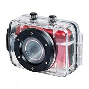 "Trevi Go 2200 HD Sports Action Camera Red 720P 1.3MP 2"" Touchscreen"